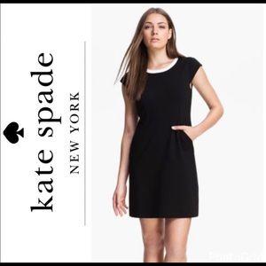 Kate Spade black dress size 8